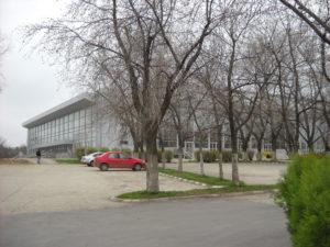 """Sala Polivalenta din Bucureşti, inaugurata in 1974, a fost locul de desfăşurare al Concursului de Muzică Uşoară Românească """"Melodiile Anului"""""""
