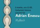 """Lansare CD Adrian Enescu """"MyBach"""" @Carturesti Verona"""