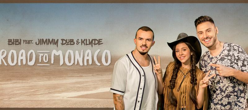 "BiBi ne aduce mai repede vara, cu noul single ""Road to Monaco""  feat  Jimmy Dub & Klyde"