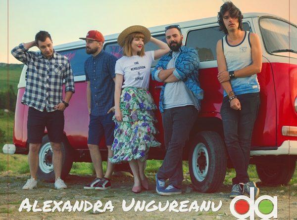 """Alexandra Ungureanu si The dAdA lanseaza single-ul si videoclipul """"In lumea noastra"""""""