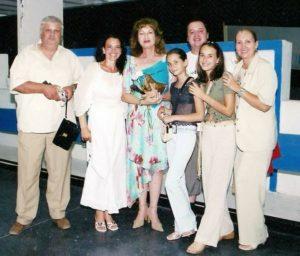 Alaturi de Dumitru Lupu, Ileana Sipoteanu, Angela Similea si Gabriela Sauciuc Cicone