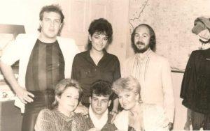 In toamna anului 1988, în turneu în Moldova, alături de Gabriel Cotabiţă, Anca Ţurcaşiu, Giovana Georgescu şi alţii.