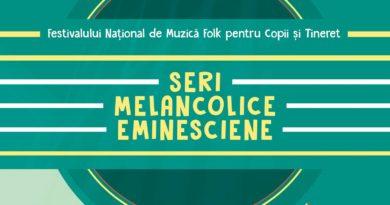 """Înscrieri pentru tinerii și copiii care vor să participe la Festivalul de folk """"Seri Melancolice Eminesciene"""""""