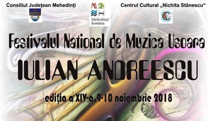 Festivalul Iulian Andreescu începe, ASTĂZI, la Drobeta Turnu Severin