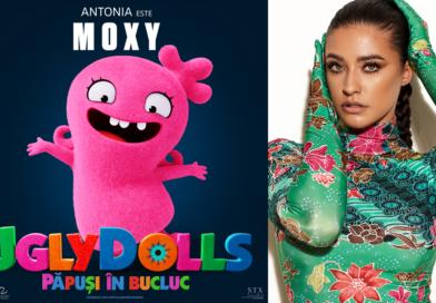 Antonia, debut în  filmul ,,UglyDolls!