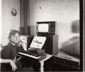 În 1989 (Arhivă familia Căplescu)