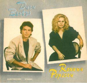 """Albumul """"Ducu Bertzi/Roxana Popescu"""", lansat la ănceputul anului 1990."""