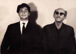 Cioiu şi Mandy la Festivalul Mamaia 1966 (arhiva personală Sergiu Cioiu)