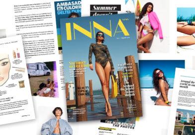 INNA lansează INNAMag, propria revistă online, unde artista împărtășește o parte din viața și experiențele