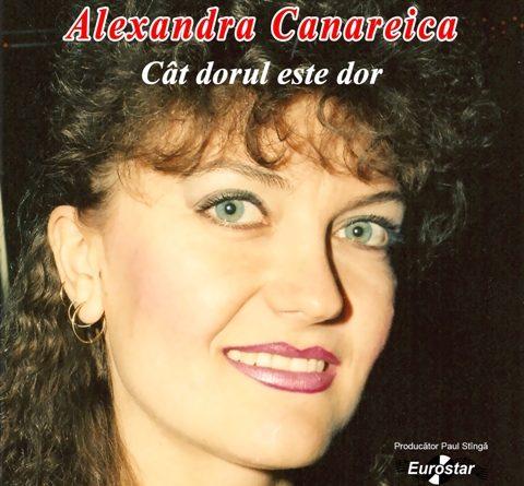 ALEXANDRA CANAREICA ÎŞI LANSEAZĂ PRIMUL ALBUM