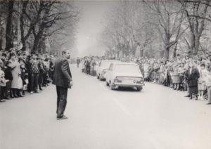 Înmormântarea artistei, pe 4 noiembrie 1989. (Arhiva Familiei Runceanu)