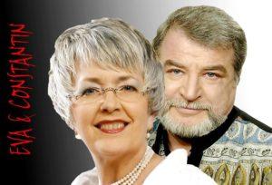 Eva Kiss şi Radu Constantin