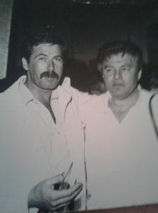 Dan V. Dumitriu alături de Cornel Fugaru (arhiva personală Dan V. Dumitriu)