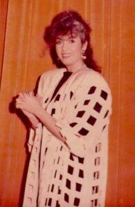 Angela Similea in 1988. Arhiva Florentin Prodea.